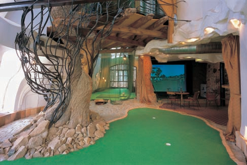 Indoor golf Štiřín