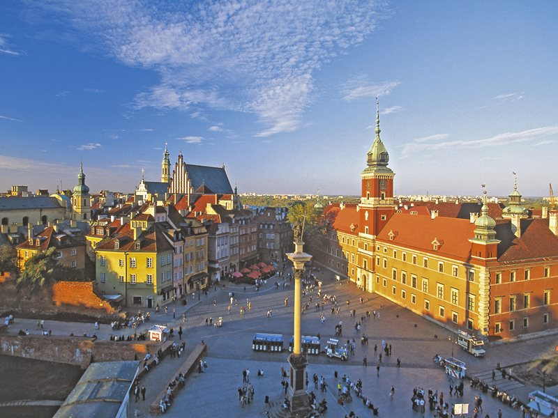 Warsaw - Royal Castle and Old Town / © Polish Tourist Organisation