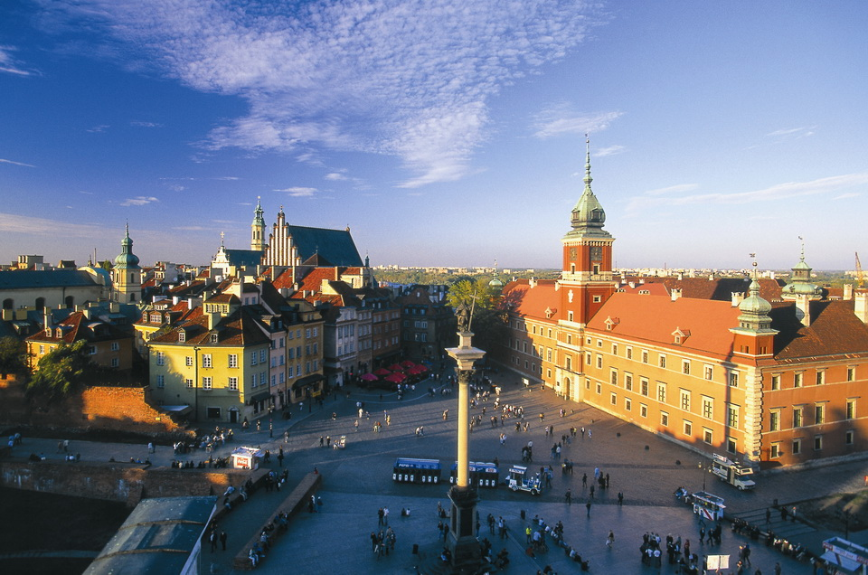 Royal Castle and Old Town in Warsaw / © Polish Tourist Organisation
