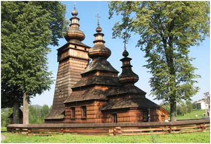 Wooden Eastern-Ortodox churche