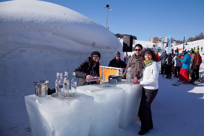 Icebar in Donovaly / Source: Slovak Tourist Board