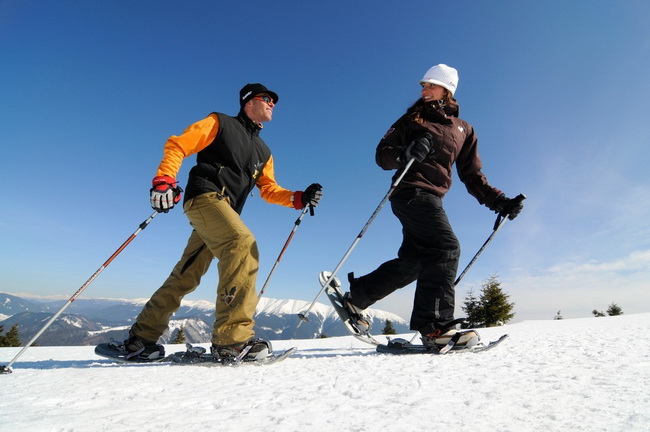 Snowshoes - Snowpark Donovaly / Source: Slovak Tourist Board