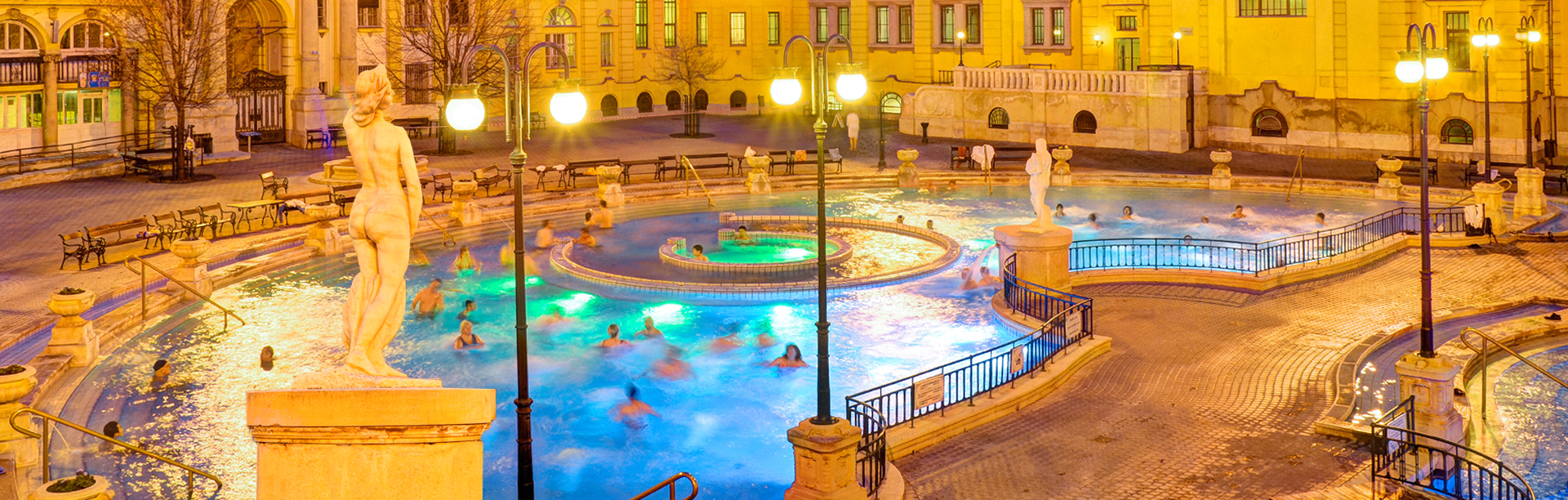 Winner of National Geographic Photo Contest taken at Széchenyi Thermal Baths Budapest