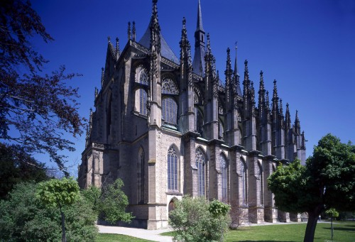 Kutná Hora - Cathedral of St. Barbara