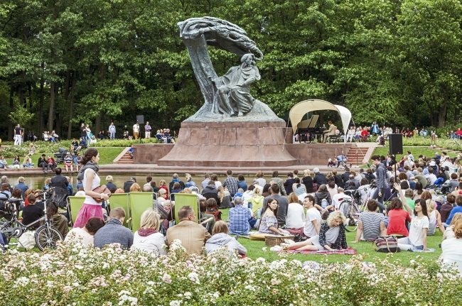 The only Chopin concerts in the Lazienki Park