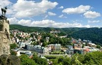 Czech Republic - Karlovy Vary - View at the City