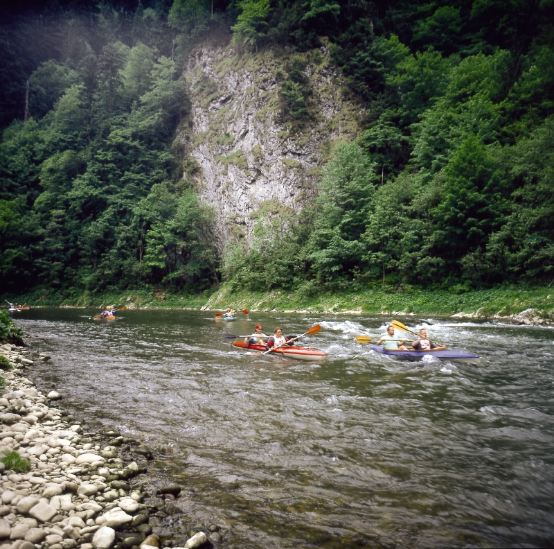 Kayaks on Dunajec river / © Polish Tourist Organisation